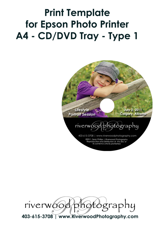print directly to epson cd or dvd tray with photoshop 100 million