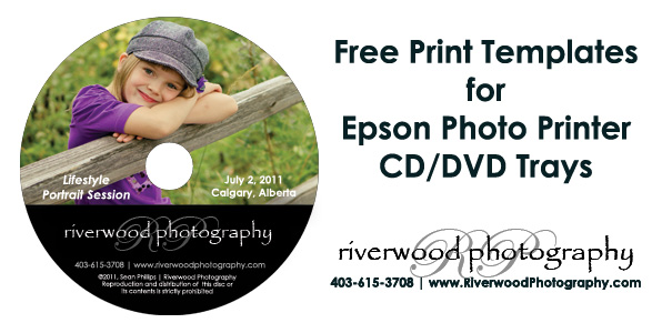 cd print template
