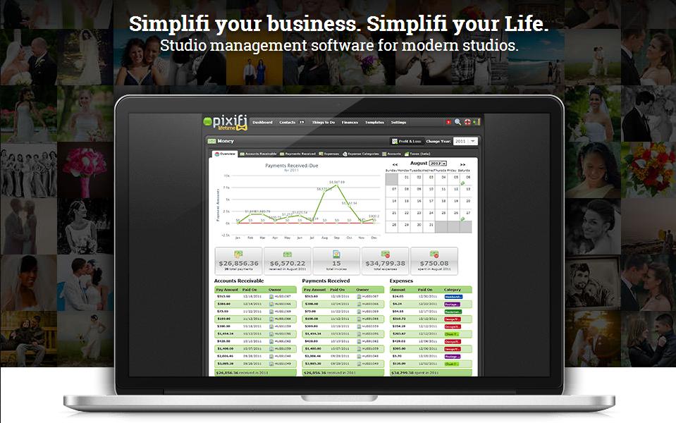 Pixifi - Photography Business Management Software