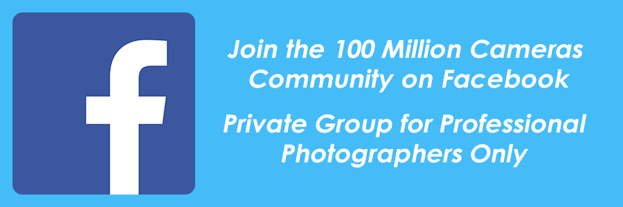 Join the 100 Million Cameras Community on Facebook